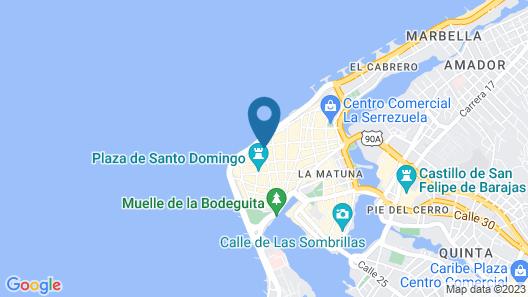 Casa La Merced by Mustique Map
