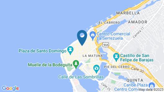 Hotel Puertas De Cartagena Map