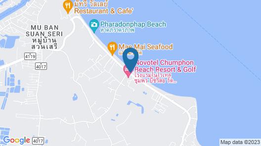 Novotel Chumphon Beach Resort Map