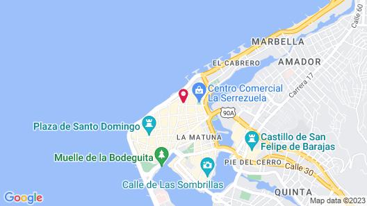 Sofitel Legend Santa Clara Cartagena Map