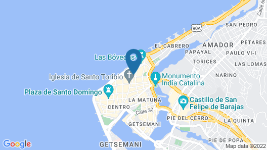 Sofitel Legend Santa Clara Cartagena Map