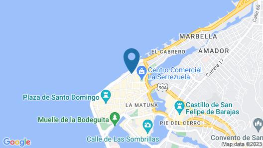 Bóvedas de Santa Clara Boutique Hotel Map