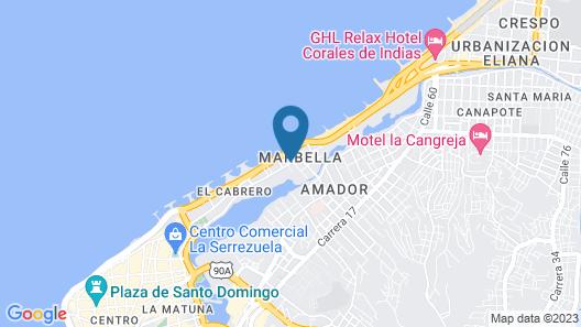 Hotel Cabrero Mar Map