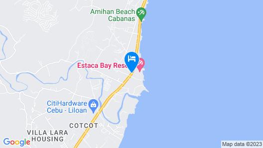 Estaca Bay Gardens Conference Resort Map