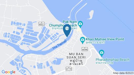 Rub Lom Chom Klong  by Fisherman Village Map
