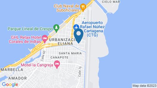Hotel Atuchi Map