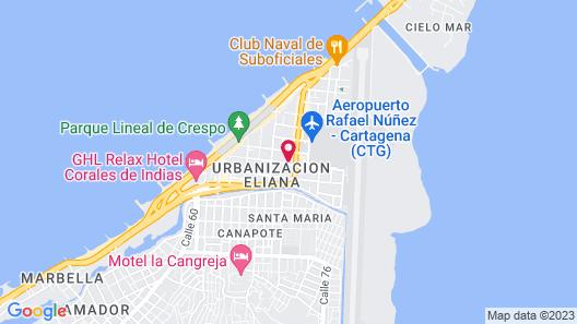 Hotel Casa Alpha Map
