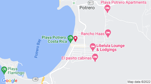 Bahia del Sol Beach Front Boutique Hotel Map
