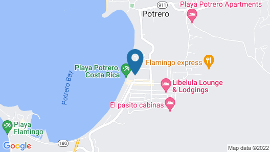 Bahia del Sol Beach Front Boutique Hotel Map