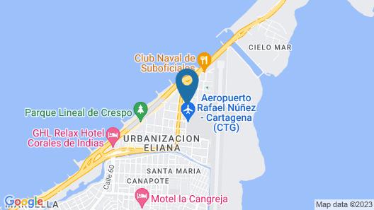 Hotel Casa Vargas Map