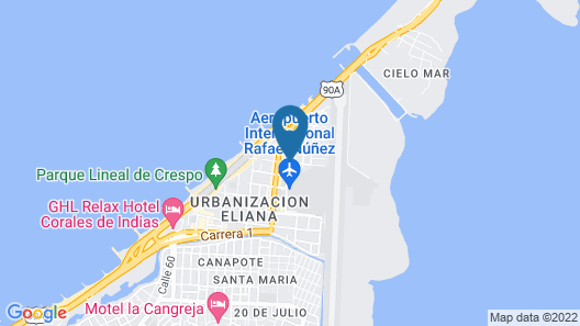 House Marfito Airport Map