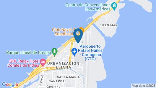 Ayenda 1802 Casa Nuñez Map