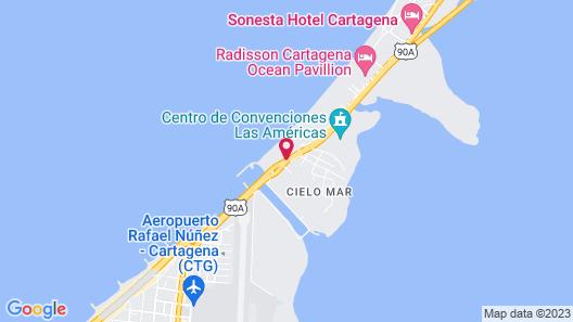 Hotel Summer Frente Al Mar Map