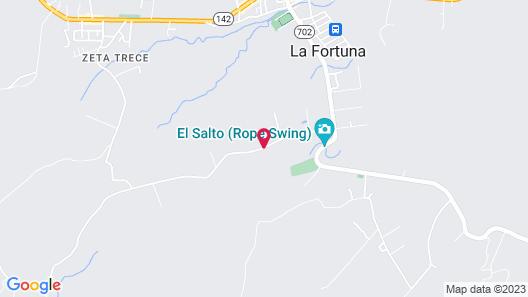 Hotel Rancho Cerro Azul Map