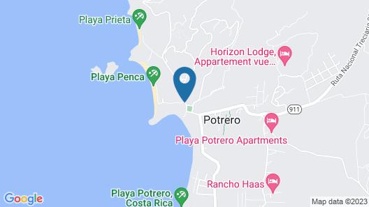 Sueño al Mar Residence & Hotel Map