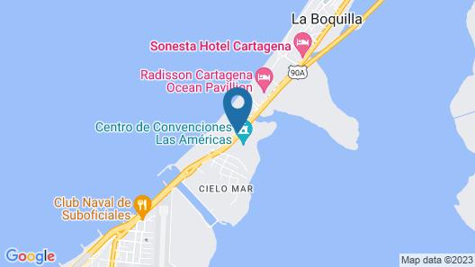 Hotel Las Americas Torre del Mar Map