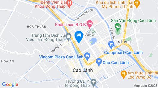 Lan Thai Ngoc Map