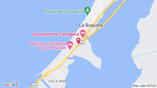 Holiday Inn Cartagena Morros Map