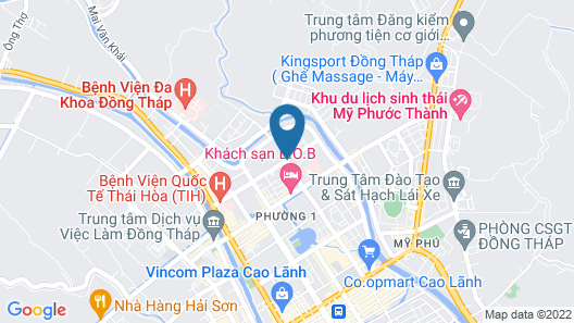 Huynh Duc Hotel Map