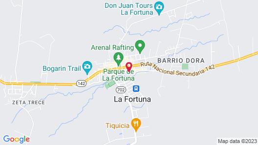 Selina La Fortuna Map