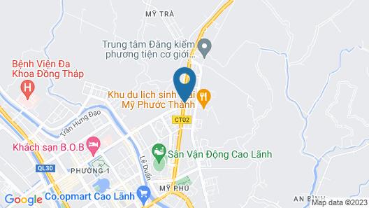 Khach san Sao Nam Map