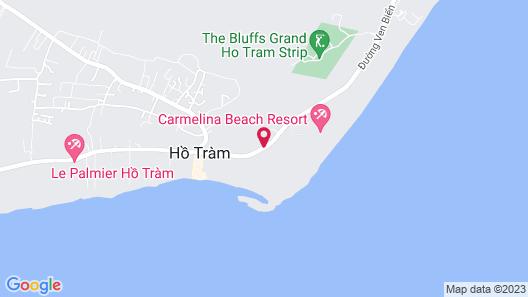 Carmelina Beach Resort Map