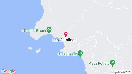 Santarena Hotel at Las Catalinas Map