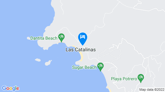 Santarena Hotel at Las Catalinas Map