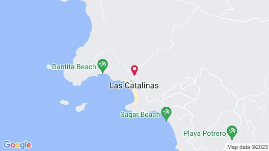 Las Catalinas Map