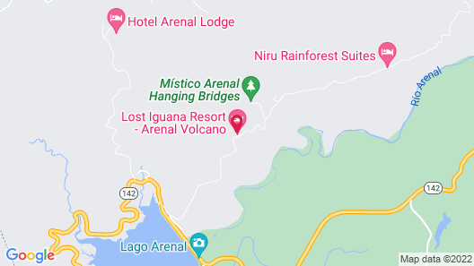 Lost Iguana Resort and Spa Map
