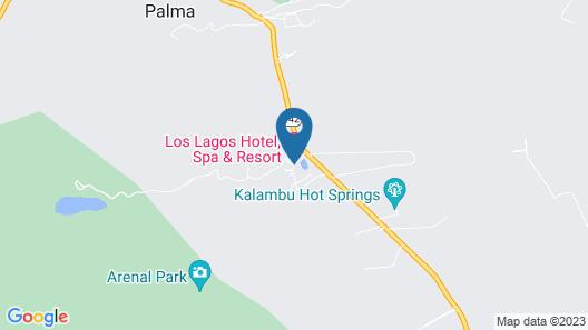 Hotel Los Lagos Spa & Resort Map