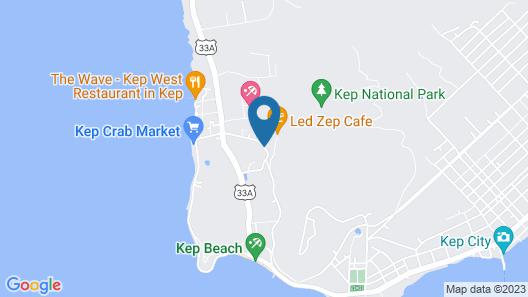 Veranda Natural Resort Map