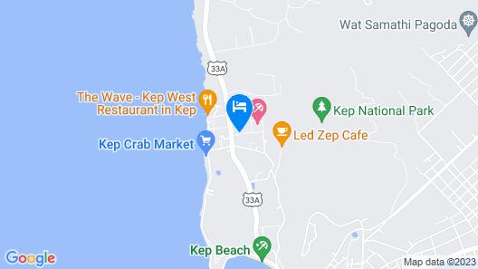 Bird of Paradise Bungalows Map
