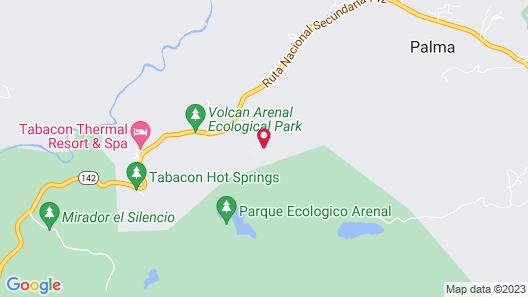 Arenal Kioro Suites & Spa Map
