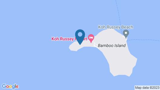 Alila Villas Koh Russey Map