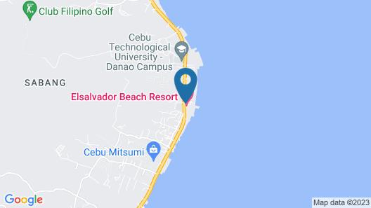 Elsalvador Beach Resort Map