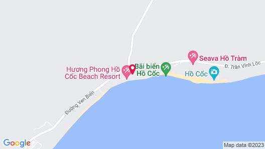 Seava Ho Tram Resort Map