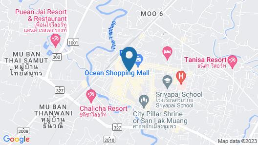 Sri Chumphon Hotel Map