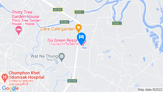 Go Green Resort Map