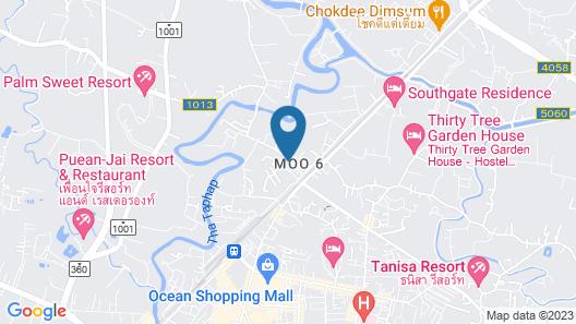 Chumphon Travelodge Hotel Map