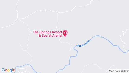 The Springs Resort and Spa at Arenal Map