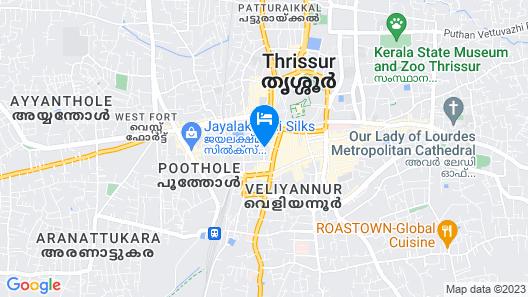 Treebo Trip Ammu Regency Map