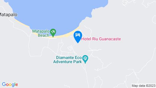 Hotel Riu Palace Costa Rica - All Inclusive Map