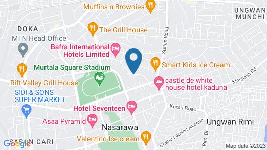 Bafra International Hotel Map
