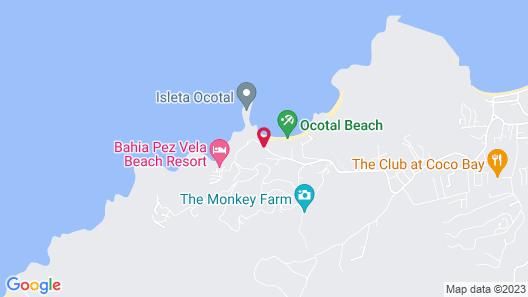 Ocotal Beach Resort Map