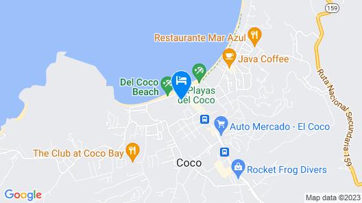 Toro Blanco Resort Map