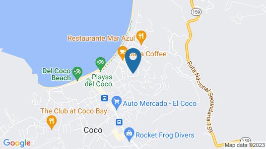 Villa Riviera Map