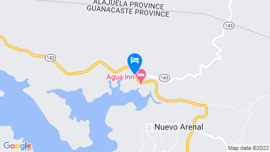 Blue Jungle Lodge Map