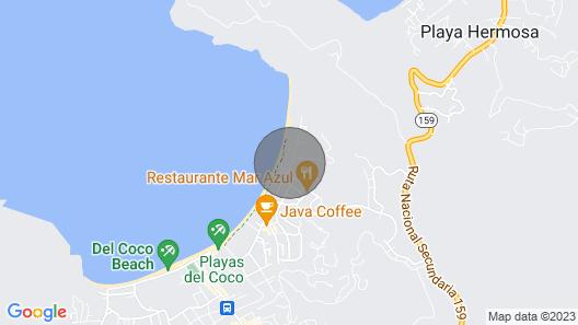 Amazing 2 bedroom Condo in Las Palmas Map