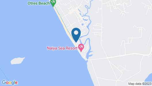 Otres Beach Resort Map
